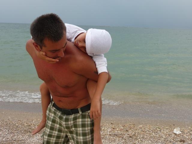 la mare cu Luca