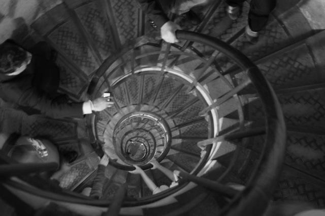 Spirala vieții. Chiar așa este dacă reușești să urci cele 100 de trepte fără să-ți dai duhul.