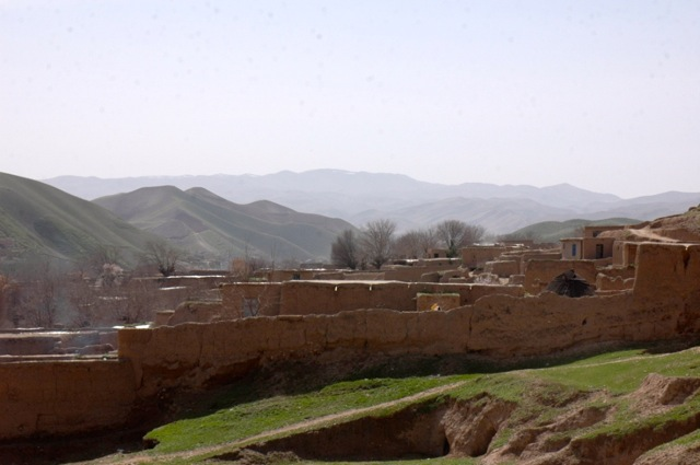 Qosh Tepa Village on the northren Afghanistan