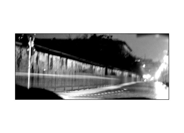 O parte din Zidul Berlinului.